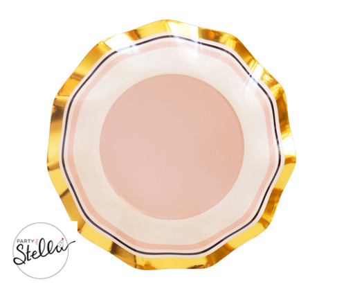 [party for stella]Pastel brights plate_BLUSH